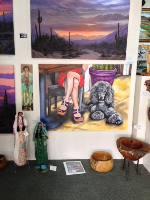 Happy Hour at Feminine Mystique Elite Gallery in Tubac