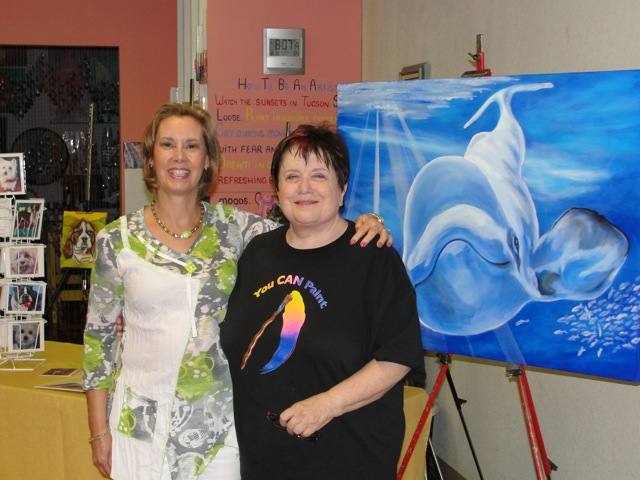 You Can Paint Humane Society Benefit with Patricia Murray